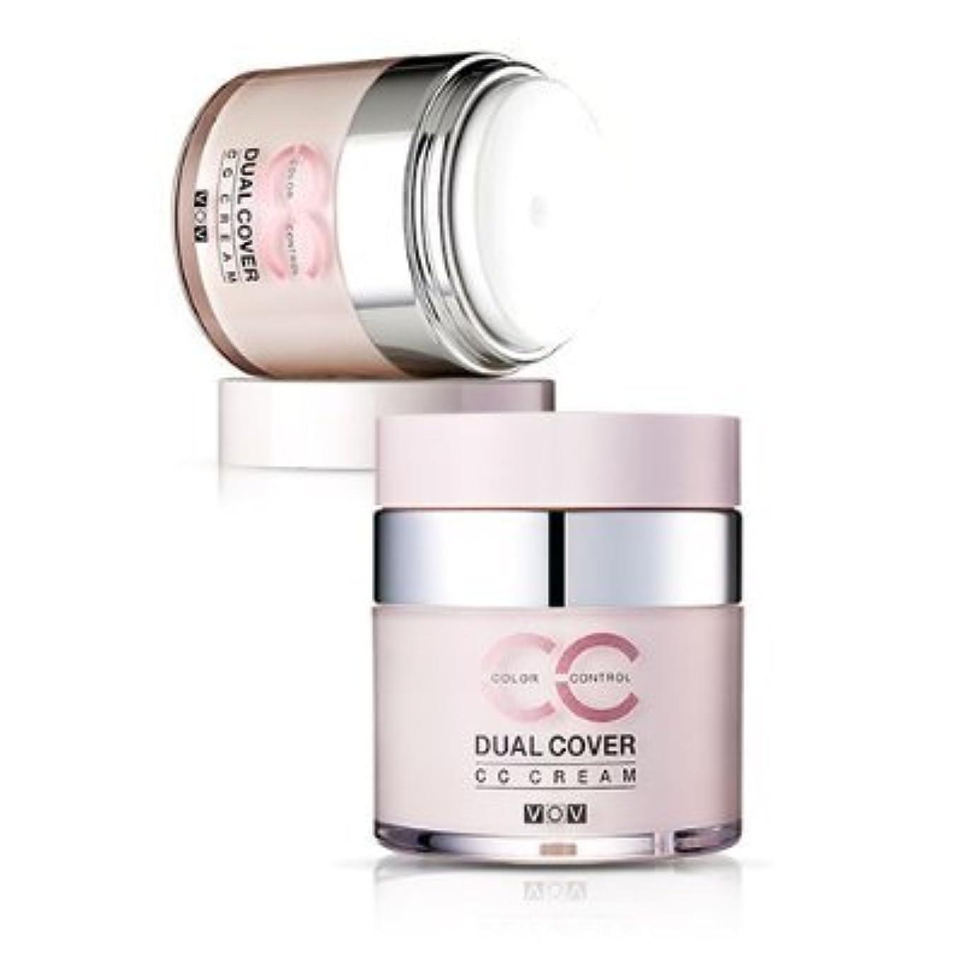 災難解明するブリークVOV Dual Cover CC Cream #21 Light Tone Up Cover