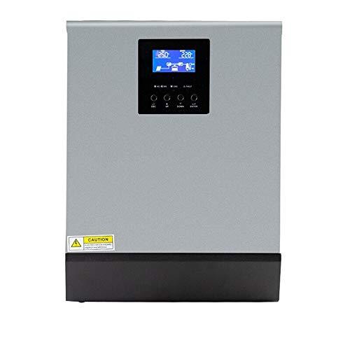 ZBF 5KVA Onda sinusoidal Pura inversor híbrido 48VDC INTENCIÓN 220VAC Salida incorporada...
