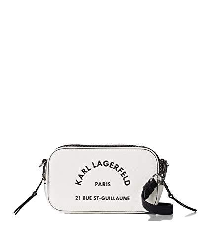 KARL LAGERFELD 205W3082 Rue St Guillaume Sac pour appareil photo - Blanc - A100 blanc, M EU