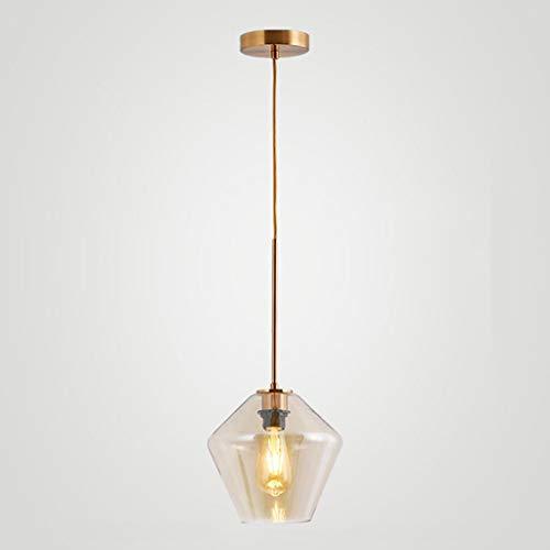 Glazen hangertje licht bar binnenverlichting woonkamer hanglamp restaurant theesalon plafondlamp