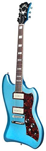 Hermandad T-Bird St P90Blu guitarra eléctrica de cuerpo sólido