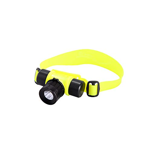 Rotary Magnetic Switch Light Waterproof Diving Headlights LED Aluminum Alloy Lamp Without Focusing Outdoor Lighting Underwater Safety Head Light Flashlight