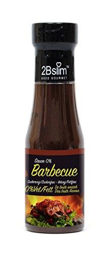 2Bslim Barbecue Sauce fettfrei, zuckerfrei, BBQ, 1kcal pro Portion, 250ml
