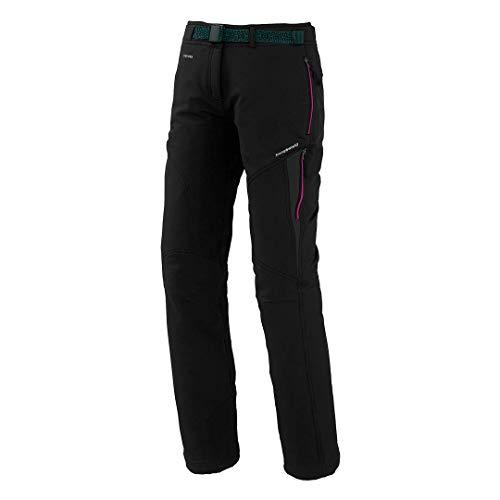 Trangoworld pc007747 – 61t-m Pantalon Long, Femme, Noir/Gris (Ombre Foncé), M