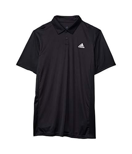 adidas unisex-child B Club Polo Black/White Small
