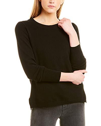 J.Crew Cashmere Crew Neck Sweater Black MD (US 8-10)