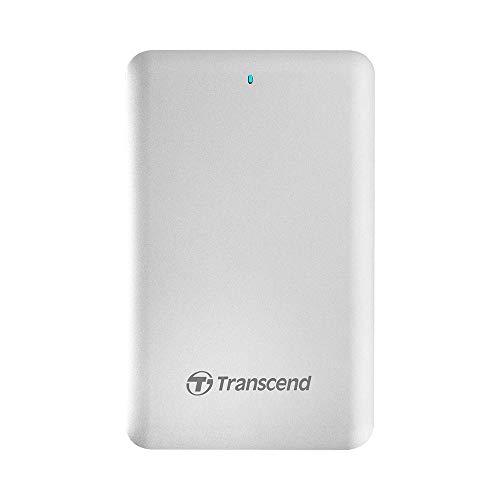 Transcend StoreJet 500 - 512GB SSD Externo Metálico para Mac con doble conexión: Thunderbold & USB 3.1. Gen 1