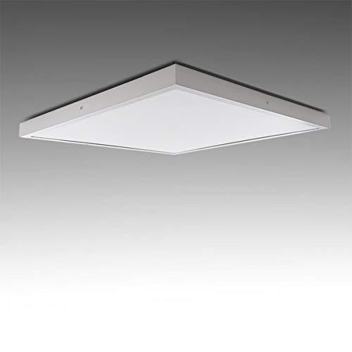 Greenice | Plafón LED Cuadrado Superficie 600X600Mm 48W 3600Lm 30.000H | Downlight LED | Panel LED Techo | Lamparas de techo | Salón, Pasillos, Dormitorio, Oficina, Baños | Blanco Frío