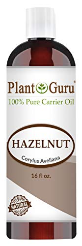 Hazelnut Oil 16 oz Cold Pressed Carrier 100% Pure Natural For Skin, Body, Face, and Hair Growth Moisturizer. Great For Creams, Lotions, Lip balm and Soap Making