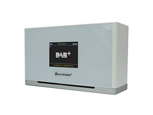 Soundmaster UR240WW DAB+ UKW Radiowecker Farbdisplay Dualalarm Wecken per Radio