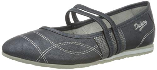 Dockers by Gerli Women's Low-Top Sneakers, Navy, 8.5 us