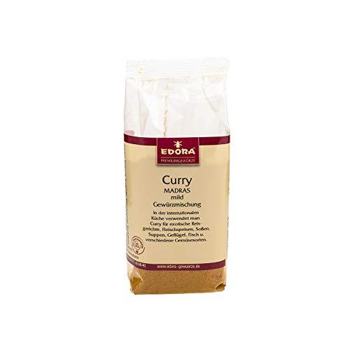 Premium Qualität Gewürz EDORA Beutel Tüte Curry Madras Gewürzmischung mild 75 Gramm