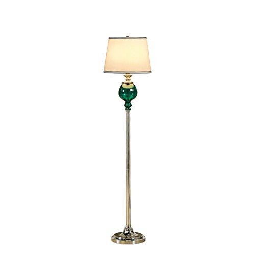 LJ lampadaire Moderne et simple Hauteur 158cm Corps en ferronnerie Revêtement en tissu Interrupteur au pied Adapté à la salle de séjour (sans ampoule)