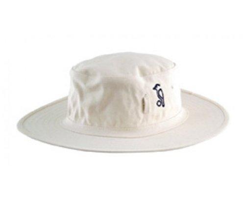 Kookaburra Kids Cricket Sun Hat - Neutral, Small -21 inches