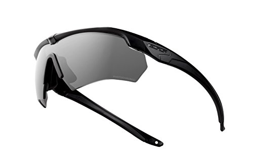 Ess Photochromic Safety Glasses, Scratch-Resistant, Wraparound