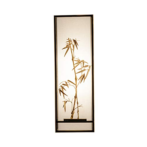 Moderno nuevo chino creativo a mano alzada E27 lámpara de pared dormitorio cabecera estudio pasillo iluminación Rollsnownow (Color : B)