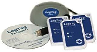 LogTag HAXO-8 Temperature & Humidity Recorder Kit w/ 3 Data Loggers & LTI-HID Docking Station (See Item VAC-TRED30-KIT-2 for VFC Vaccine Monitoring kit)