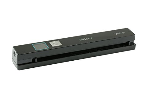 IRIScan Anywhere 5 WIFI, PC and Mac, Document Image Portable Mobile Color Scanner, Black
