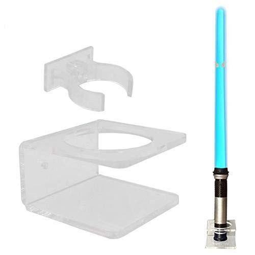 rethyrel Acryl Lichtschwert Rack Wandhalterung Lichtschwerthalter für Wohnkultur, Hardware enthalten