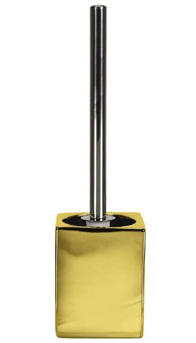Kleine Wolke 5065125856 Glamour WC-Bürstenhalter, Gold