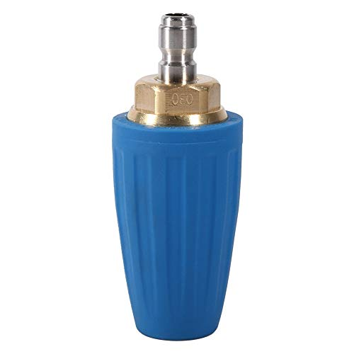 Esenlong 1/4 Schnellanschluss Hochdruckreiniger Reiniger Zubehör Sprühturbodüse 3000Psi 3. 0 Blau
