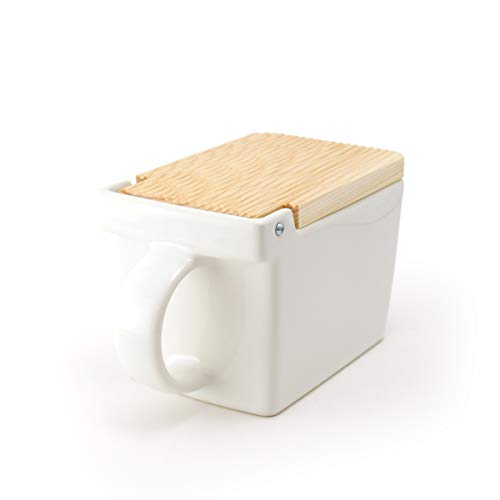 ZERO JAPAN Salt Box - White - 0.45qt/420ml
