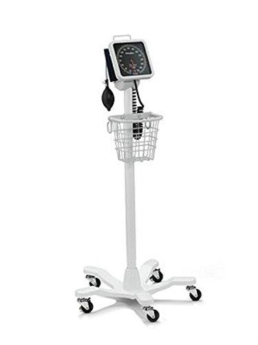 Welchallyn 7670-10 767-serie Wand- en mobiele bloeddrukmeter 767 Mobile aneroïde op 5-poot-standaard met 1-delige manchet voor volwassenen