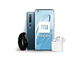 "Xiaomi Mi 10 Pack Lanzamiento (Pantalla FHD+ 6.67"", 8GB+128GB, Camara de 108MP, Snapdragon 865 5G, 4780mah con Carga 30W, Android 10) Gris + Mi Band 3 + Mi True Wireless Earphone 2 [Versión española] (B086CYQ28B) | Amazon price tracker / tracking, Amazon price history charts, Amazon price watches, Amazon price drop alerts"