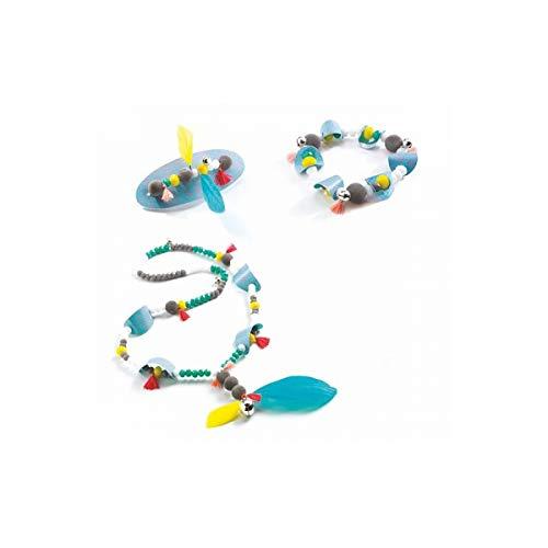 Djeco DJ08711 Für ältere Kinder – Perlen und Schmuck, gemischt