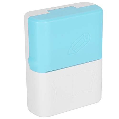 Draagbare Printer Mis Sorteren Vraag Thermisch Mini-Printer Handheld Foto KopiëRen Afdrukken Artefact Kantoor Artikelen met USB-Kabel voor Reizen Studenten Streepjescode Memo Meertalig(blauw)