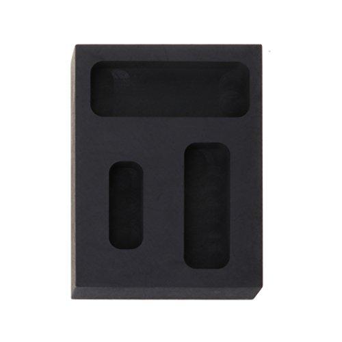 R-WEICHONG Herramienta de refinado de chatarra para moldes de metal para barras de hierro fundido de grafito y crisol de oro