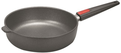 Woll Nowo Titanium Sauté Pan with Detachable Handle and Lid, 11-Inch
