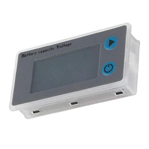 Monitor de la batería, probador Digital de capacidad de la batería, porcentaje de nivel de voltaje de temperatura de activación del metro del calibrador JS-C33 24V Pantalla LCD Marina RV panel indic