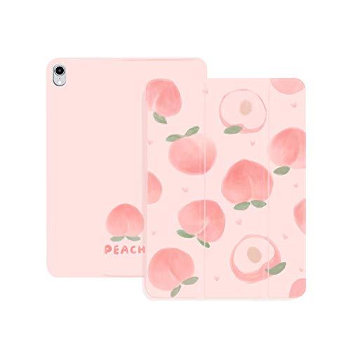 SUNQQA Cute Peach for iPad Air 3 10.5 PRO 2020 Casi da 11 Pollici 2019 for iPad 2017 2018 AIR2 9.7 Mini 5 Cover con Custodia per Slot a Matita (Color : 2Y241, Size : for iPadPro2020 11)