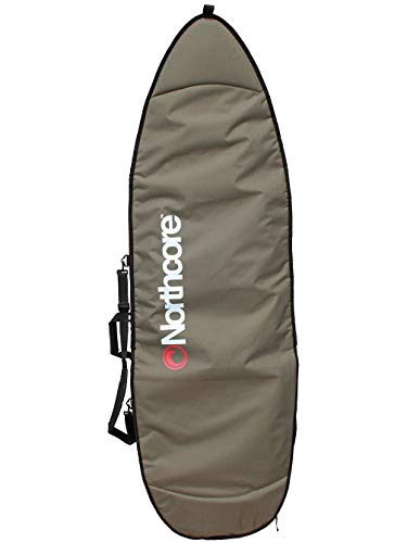Northcore Aircooled Board Jacket Shortboard Bag Housse pour Skateboard Mixte Adulte, Gris (Gris), 6,0\