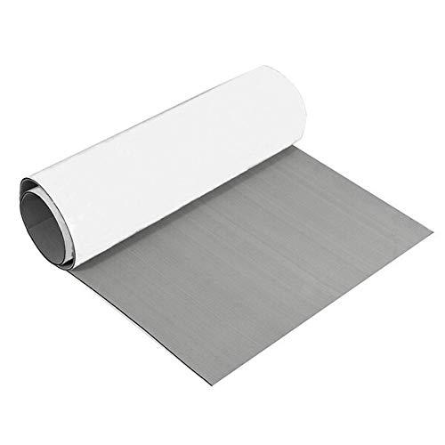 Wchaoen 240x90cm Grau EVA-Schaum-Teak Blatt 6mm Boot Flooring Faux Teak Decking-Blatt-Auflage Werkzeugzubehör (Color : Light Gray)