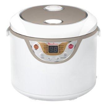 Moulinex MK3021 Küchenmaschine MAXICHEF–Roboter (8Automatik-Programme, Fassungsvermögen 3,5Liter, micropresión), weiß [Energieklasse A+] (Generalüberholt)