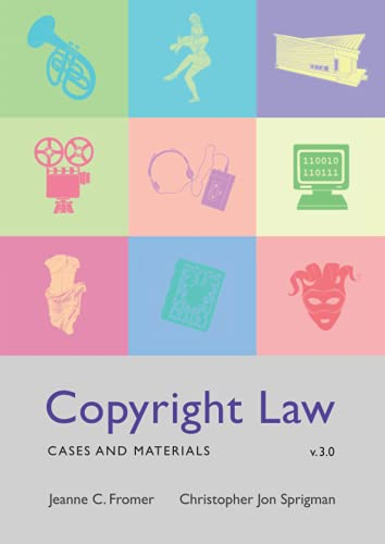 Copyright Law: Cases And Materials (V3.0)