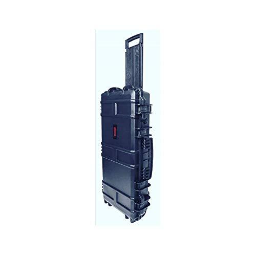 Nuprol SMG - Valigetta rigida per armi Ultima aggiunta da NUPROL. Dimensioni: 80 cm x 39 cm x 20 cm; esterno 74 cm x 33 cm x 9 cm; interno (vano portaoggetti inferiore). Inserto in schiuma ondulata. Disponibile in 3 colori.