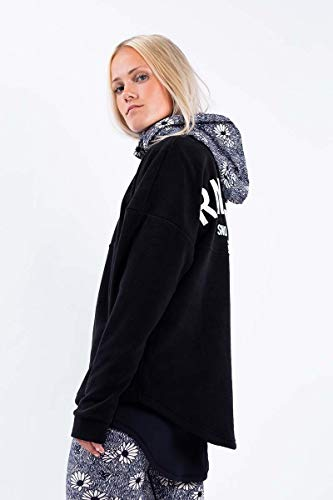 Eivy Boxy Fleece Pullover Oversized, Rather Snowboard, L