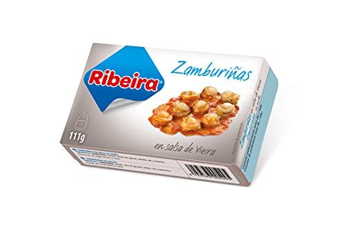 Ribeira - Zamburiñas en Salsa de Vieira 111g