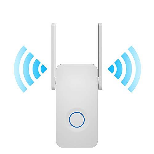 MELODY WiFi Repetidor 300-1200mbps Amplificador De Extensor De Alcance Wi-fi Inalámbrico 5ghz 802.11b/g/n/AC, WiFi Booster para Ampliar El Alcance De La Conexión A Internet WiFi