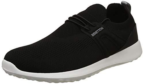United Colors of Benetton Men's Black Sneakers-6 UK/India (40 EU) (18A8INDU9135I)