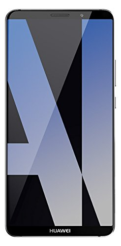 Huawei Mate 10 Pro (Single-SIM) 128GB Android 8.0 UK version SIM-Free Smartphone -Titanium Grey (Renewed)