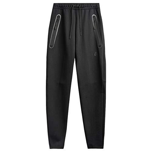 NIKE M NSW TCH FLC Pant Oh Sport Trousers, Hombre, Black/Black, 2XL