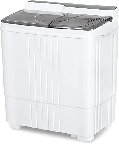 Portable Small Washing Machine, 21.6 Lbs Mini Compact...