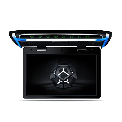 """XTRONS 10,2"""" Digital TFT 16:9 Bildschirm für Auto Bus unterstützt 1080P Video Auto Overhead Player Auto Monitor mit HDMI Port Automosphäre LED Licht Windows CE für Urlaub (CM101HD)"""