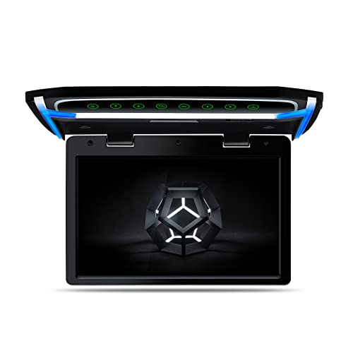 XTRONS 10.2 Inch Digital TFT Screen 1080P Video Car Overhead Player Roof Mounted Monitor HDMI Port (No DVD Drive)