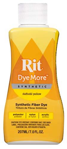 Rit DyeMore Tinte líquido para sintéticos, fórmula Avanzada, Materiales sintéticos,...