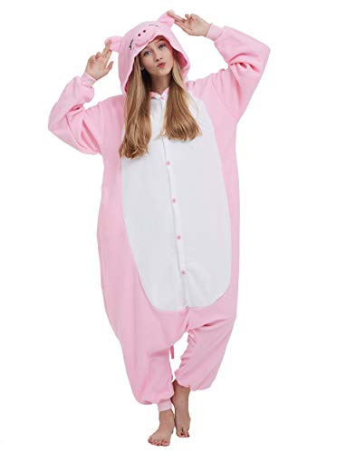 Pijama Animal Entero Unisex Adultos Capucha Cosplay